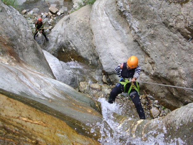 Canyoning at Kabre Khola with Borderlands DSC02154