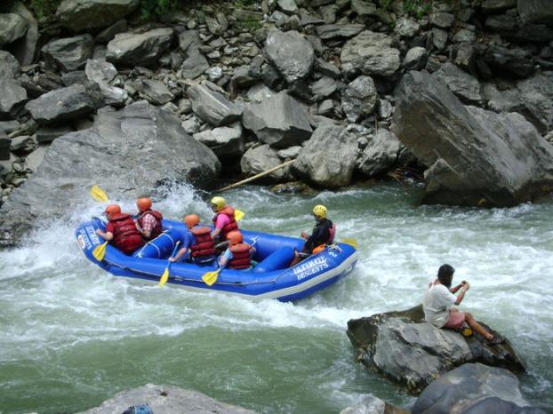 Rafting on Bhote Koshi DSC03128