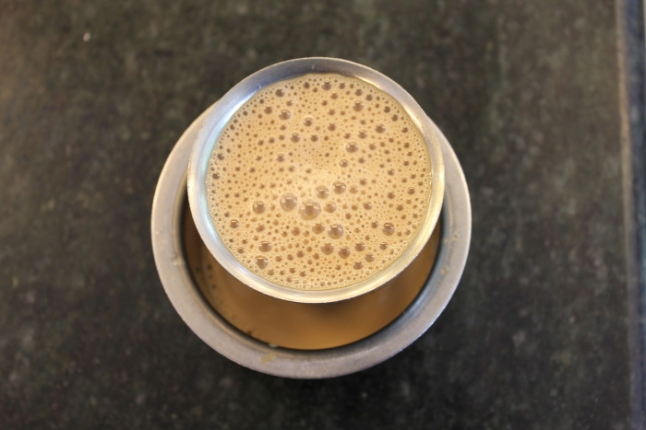 South Indian filter kaapi served in a dabrah 309_Anurag Priya