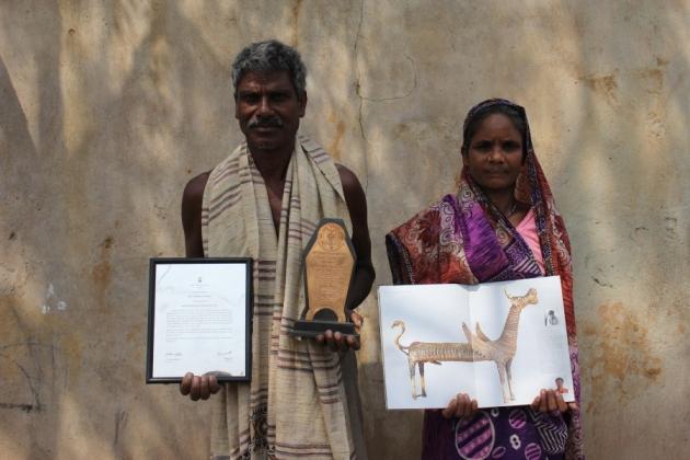 IMG_6814 Natl Award winner Shankar Lal Jhara_Anurag Priya
