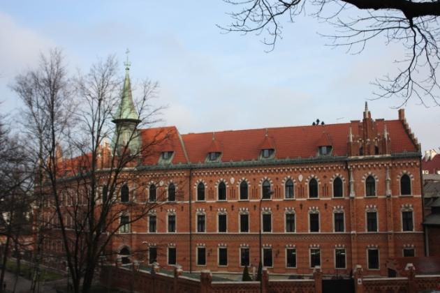 IMG_1876 Archbishop Seminary near Wawel Castle_Anurag Mallick