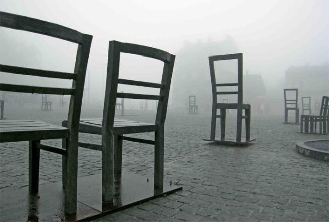 Krakow Holocaust monument_Chairs