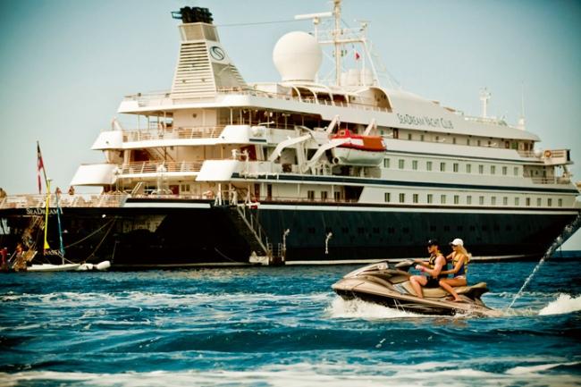 SeaDream Yacht with Marina Sports