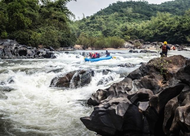 Tilari Goa rafting3