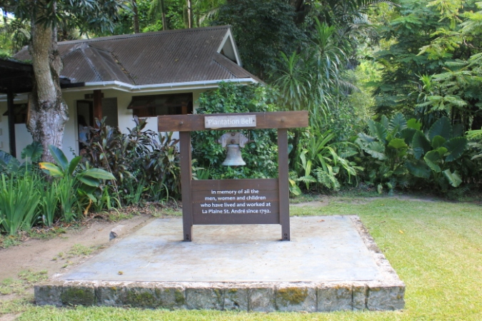IMG_0139 Plantation Bell at La Plaine St Andre_Priya Ganapathy