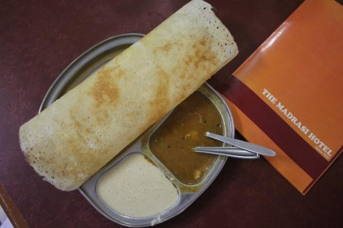 South Indian fare at Madrasi Hotel Jamshedpur IMG_6890