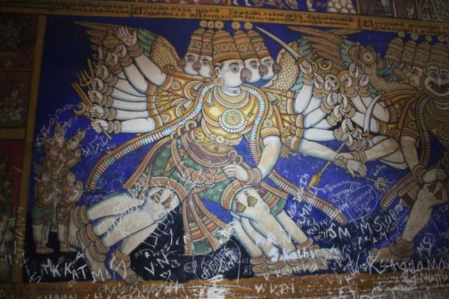 IMG_8324 Uraiyur Nammalvar sub-shrine murals-Anurag Mallick_Priya Ganapathy