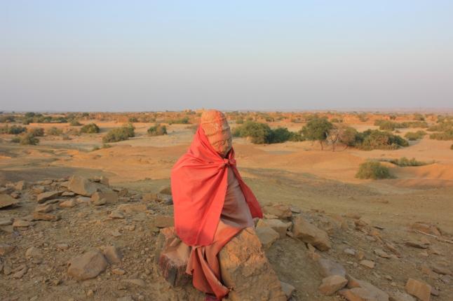 Hanuman ji in Kuldhara Rajasthan IMG_9558