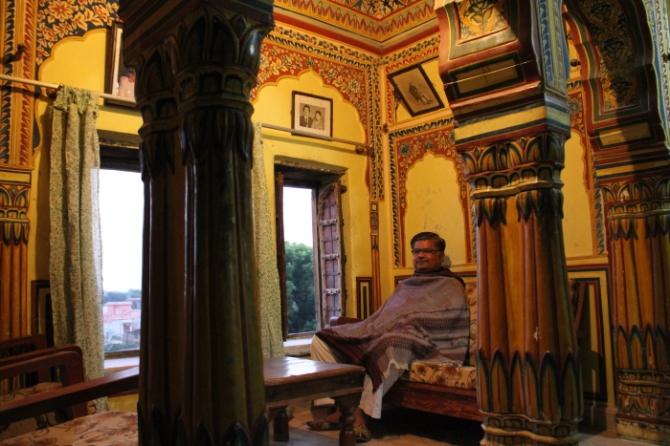 Mahansar Fort heritage hotel owner IMG_0328Anurag Priya