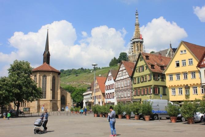 Esslingen am Neckar-Town square IMG_0189_Anurag Mallick