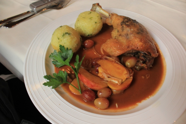 Schwabian cuisine-Duck breast at Restaurant Ente Blaubeuren IMG_0709_Anurag Mallick