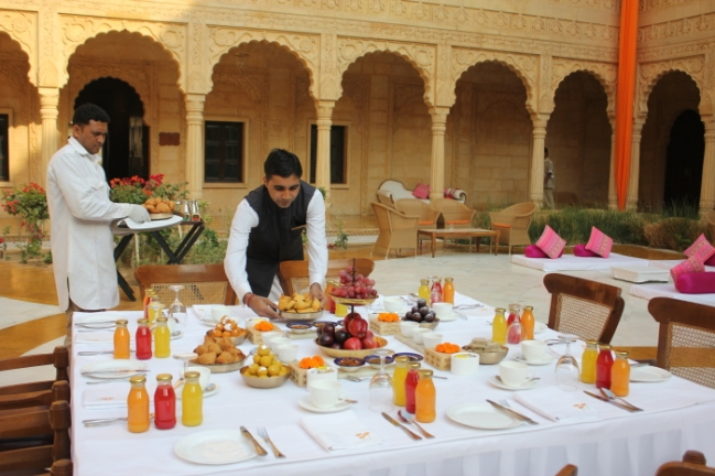 IMG_8910-Suryagarh's elaborate halwai breakfast