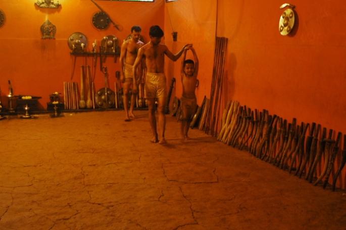 CVN Kalari teaching the young