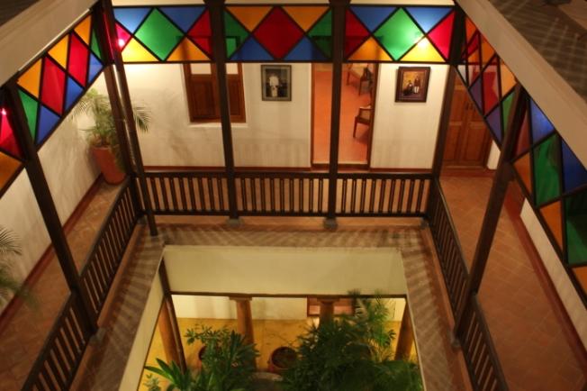 Maison Perumal courtyard_Pondy-Anurag Mallick