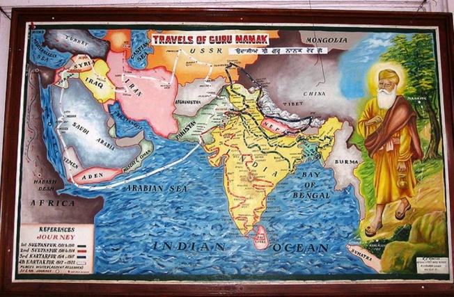 Travels of Guru Nanak_Udasis-Anurag Mallick