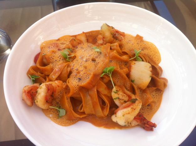 SeaFu-Fettucine with seafood