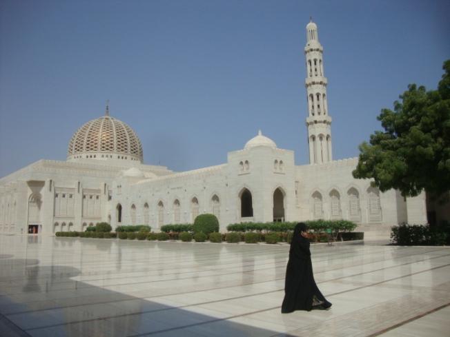Sultan Qaboos Mosque Muscat Oman DSC01004
