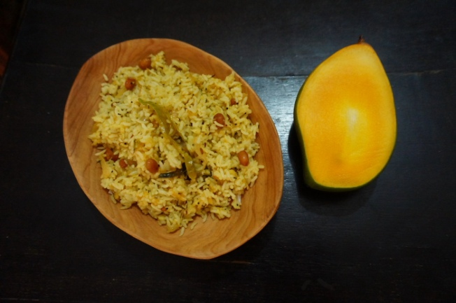 Mango rice made with Totapuri DSC05369_Anurag Priya