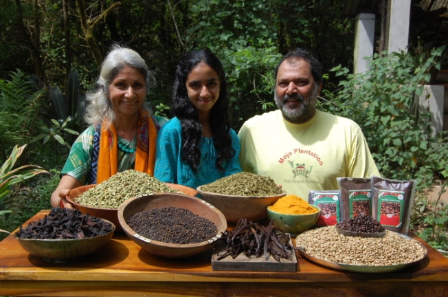 Mojo Rainforest Retreat-goel family with spices_Anurag Mallick