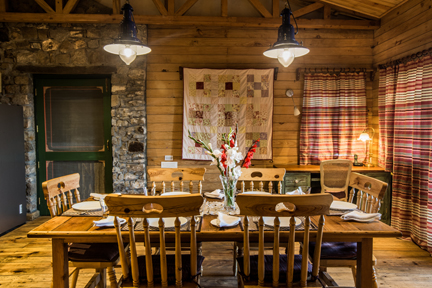 Rokeby Manor_Pine Tree Lodge - Dining