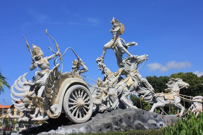 Bali Airport Denpasar-Ghatotkacha statue_Anurag Mallick