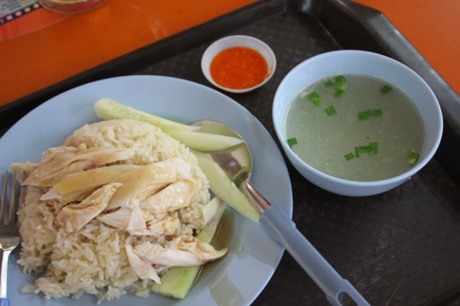 Food-Hainanese Chicken Rice IMG_0562_Anurag Mallick