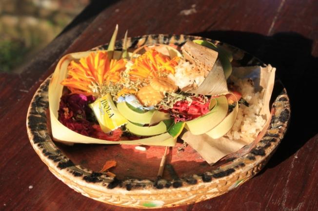 Canang sari-daily ritual offering IMG_4079_Anurag Mallick