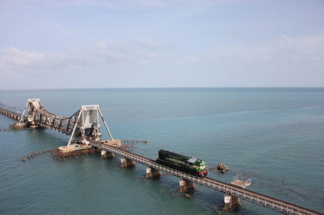 Pamban Railway Bridge IMG_2148