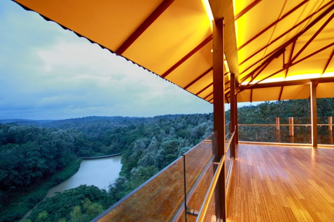 The Ibnii Coorg-Kaadu reception viewing deck