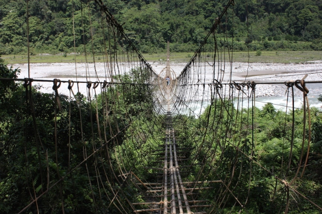 Arunachal hanging rope bridge IMG_5696
