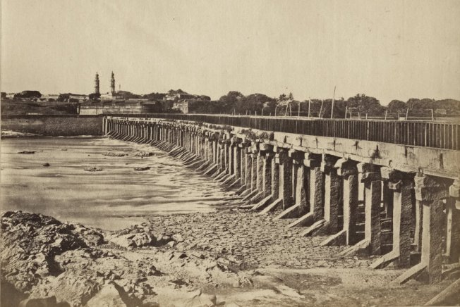 The Wellesley Bridge in Srirangapatna, Karnataka - c1850's