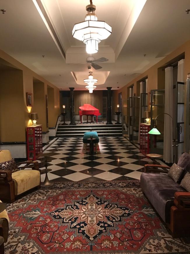 Narendra Bhawan, residence of Narendra Singh ji, the last Maharaja of Bikaner has been beautifully renovated into a boutique hotel IMG_2821