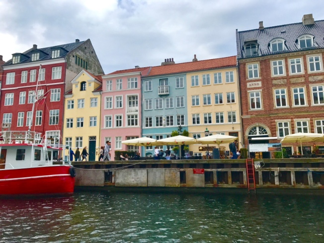 Painted houses of Nyhavn seen on a canal ride_Priya Ganapathy