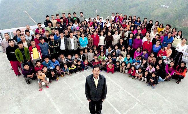 Mizoram largest family