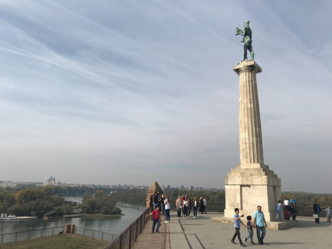 Pobednik or Victor statue at Belgrade Fortress IMG_0672_Anurag Mallick
