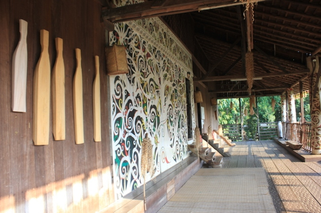 Sarawak Cultural Village-Ulang uru longhouse IMG_5468