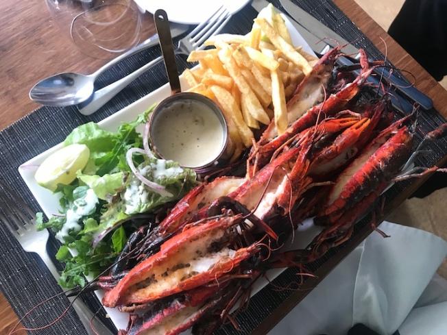 Lilaayi Lodge food-cray fish IMG_4253