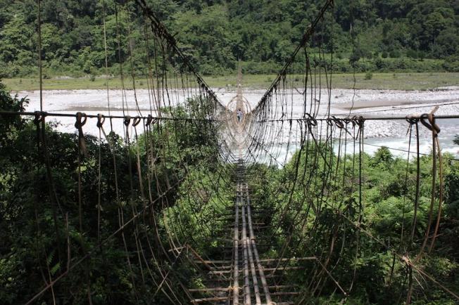 Arunachal-Damroh hanging bridge IMG_5696