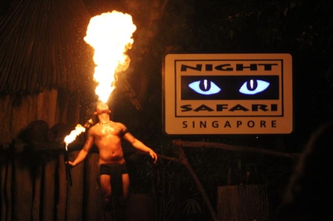 Night life-Fire dancers at Night Safari IMG_9674_Anurag Mallick