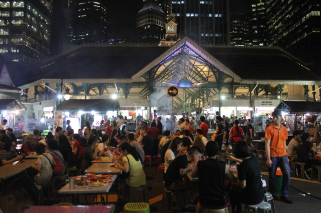 Reinterpreted Spaces-Lau Pa Sat open air food stalls IMG_7256_Anurag Mallick