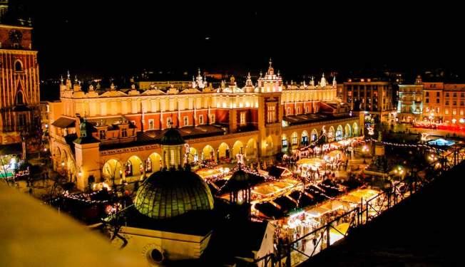 Krakow xmas market