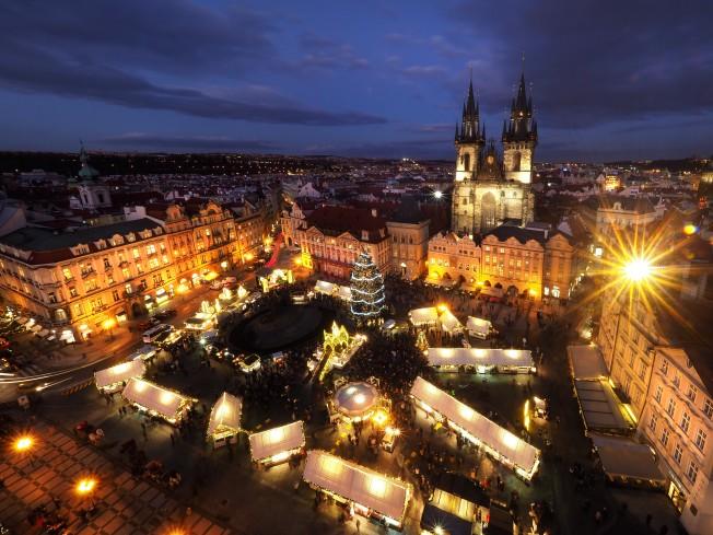 Prague xmas mkt