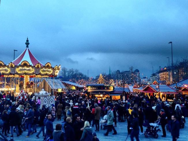 Zurich's Wienachtsdorf