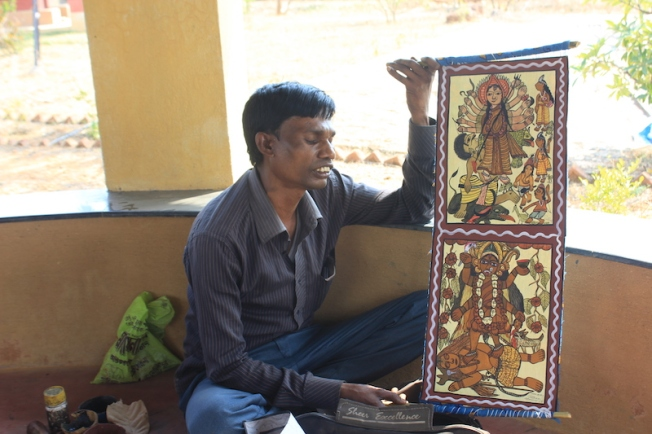 Amadubi Pyatkar artist Vijay Chitrakar-Anurag Mallick IMG_8434